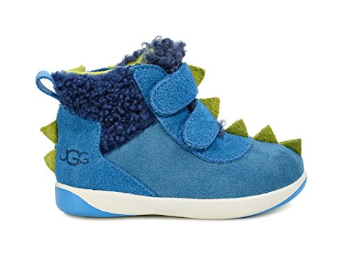 Picture of UGG Little Kids Dydo Pritchard Boot Blue Multi Size 10 M US Toddler