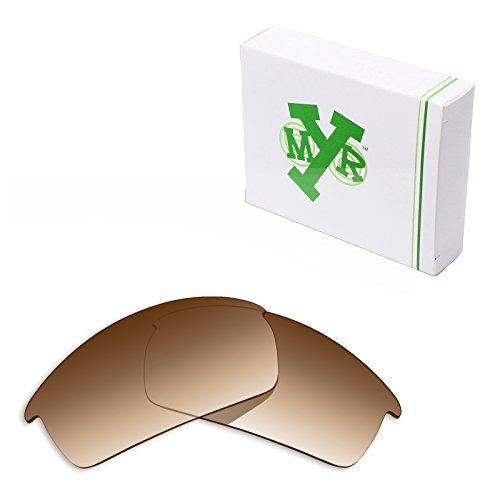 Mryok Polarized Replacement Lenses for Oakley Bottlecap - Brown Gradient - Gradient Tint Sunglasses