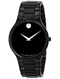Movado Men's 0606594 Serio Black PVD Watch