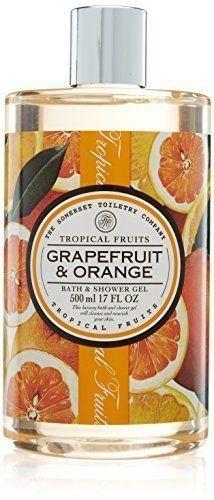 Tropical Fruits Grapefruit & Orange Bath & Shower Gel (Orange Tropical Fruit)