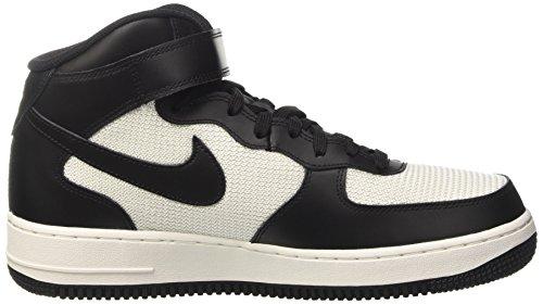 Nike Herren Air Force 1 Mid '07 Basketballschuh Schwarz / Schwarz-Gipfel Weiß