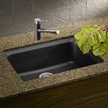 Blanco 400492 Vision U 1 Bowl Undermount Silgranit® Sink - Anthracite
