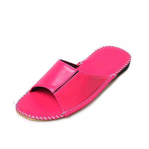 Women Femme Chaussons Rose pour TELLW wBPUOX