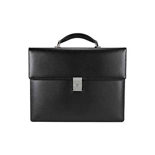 Montblanc Meisterstuck Single Gusset Full-grain Cowhide Briefcase 104606 ()