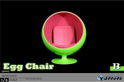 1 6 rotation egg chair fluorescent green zy15 29b buy online in uae toy products in the. Black Bedroom Furniture Sets. Home Design Ideas