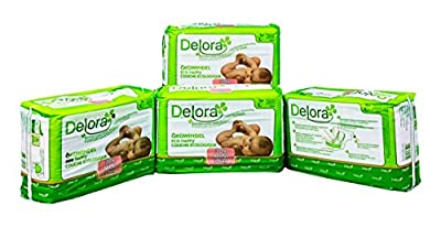 Delora Eco Diapers Mini, White, X-Small