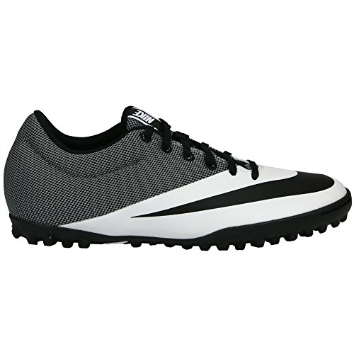 Nike MercurialX Pro TF Mens Football Boots 725245 Soccer Cleats (US 11, white black 100)