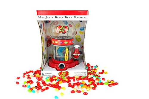 Mr. Jelly Belly Bean Machine - Two Bag Variety Combo Candy Set (Machine + 7.5oz Assorted + 1oz Assorted)