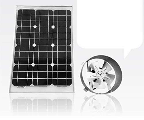 Jet Hot Exhaust - Amtrak Solar's Powerful 40-Watt Galvanized Steel Solar Attic Fan Quietly Cools your House Ventilates your house, garage or RV and protects against moisture build-up