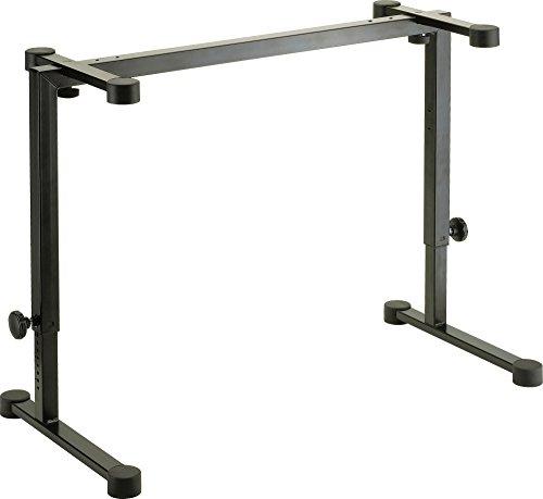 K&M Stands 18810.015.55 Omega - Soporte para teclado de mesa, color negro