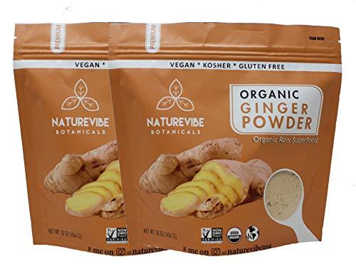Naturevibe Botanicals Powder 2 Zingiber officinale product image
