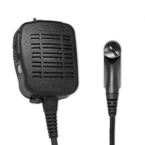 ARC S51036 Heavy Duty Anti-Magnetic Speaker Shoulder Microphone for Harris (MA/COM) XG-100P Series and XL-200P by ARC