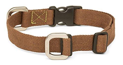 West Paw Strolls Dog Collar with Hemp, Large,...