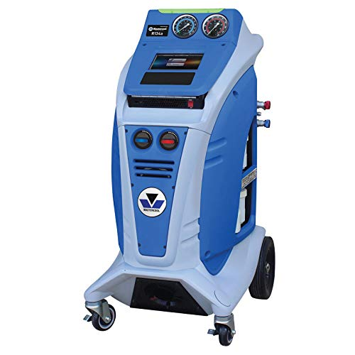Mastercool COMMANDER2000 R134a Fully Automatic Recover/Recycle/Recharge Machine, Blue/Gray
