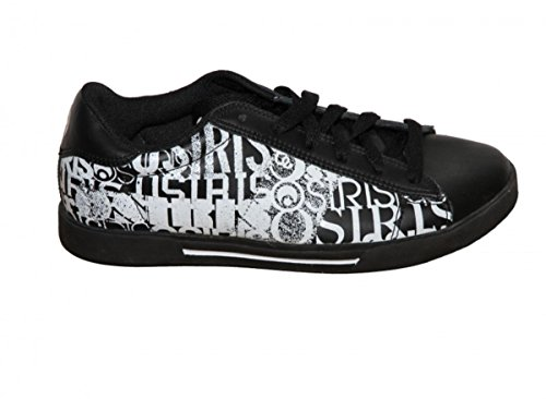 Osiris Skateboard Shoes Serve Black/ White Caswell Effect Sneakers Shoes