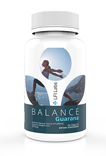 Natural Guarana Powder Extract Supplement - Slow Release Natural Coffee Caffeine Pills with No Crash; Increased Focus, Fat Burning, Metabolism; Energy Drink Alternative & Weight Loss Aid; 1000mg