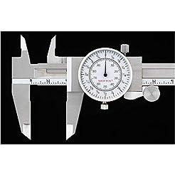 Shop Fox D3208 Fractional Dial Caliper