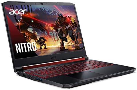 Acer Nitro 5 Gaming Laptop, 9th Gen Intel Core i5-9300H, NVIDIA GeForce GTX 1650, 15.6″ Full HD IPS Display, 8GB DDR4, 256GB NVMe SSD, Wi-Fi 6, Backlit Keyboard, Alexa Built-in, AN515-54-5812 41me77w 2BqML