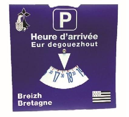DISQUE DE STATIONNEMENT EUROPEEN Bilingue breton / franç ais Yoran EMBANNER