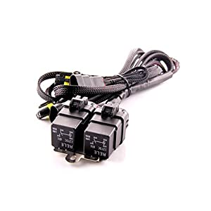 DDM Tuning Heavy Duty Dual Relay HID Harness: Universal 9006 Inputs / Outputs, 1 Year Warranty