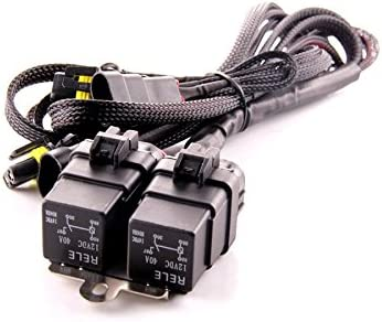 Universal 9006 Inputs//Outputs DDM Tuning Heavy Duty Dual Relay HID Harness 1 Year Warranty-FBA