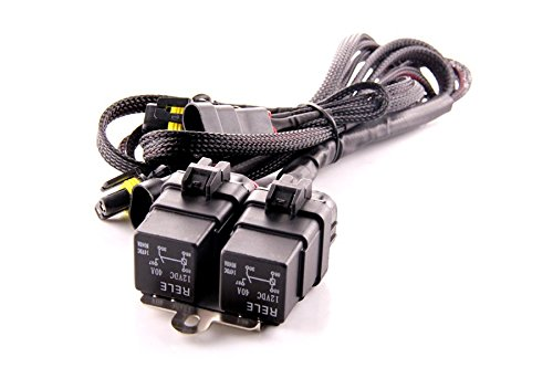 DDM Tuning Heavy Duty Dual Relay HID Harness: Universal 9006 Inputs/Outputs, 1 Year Warranty