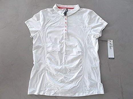 LIJA camiseta de Polo de Golf para mujer Blanco / Calyps Grande ...