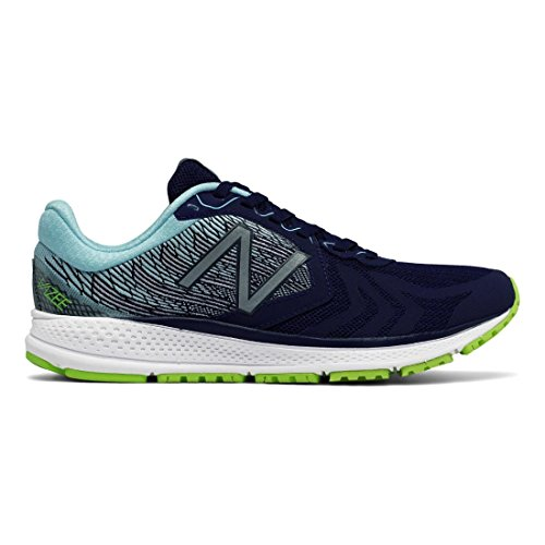 New Balance Women's Vazee Pacev2 Running Shoe, Dark Denim/Lime Glow, 7 B US
