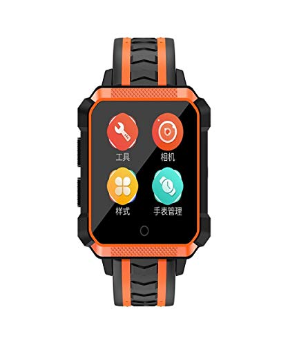 Price comparison product image Vacally H7 4G Smart Watch 1.54inch Color Screen IP68 Waterproof for Android Phone GPS Sport Fitness Activity Blood Pressure Heart Rate Monitor Watch