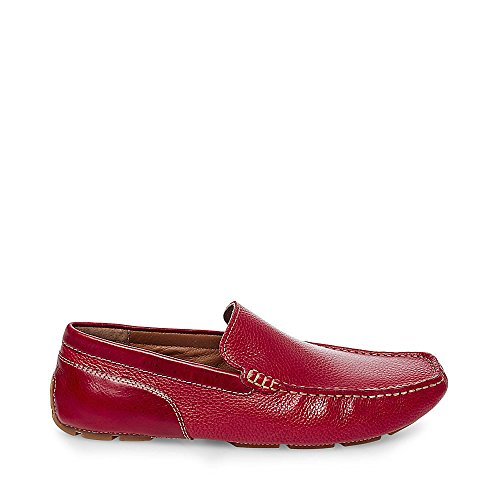Steve Madden Mens Dune 430 Red Leather 3qbFNhi6C