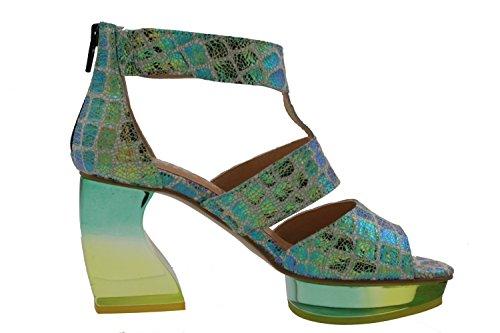 Weiß Grün Uk Gold Sandals 3 Blau Women's Fashion Tiggers qztTfxnUSw