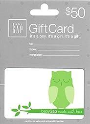 Baby Gap Gift Card
