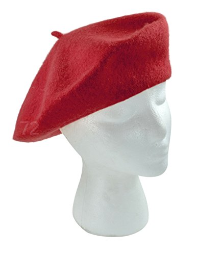 True Wool Beret Red For Women
