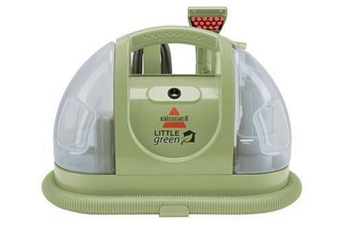 Green Machine (Bissell Multi-Purpose Portable Carpet and Upholstery Cleaner, 1400B)