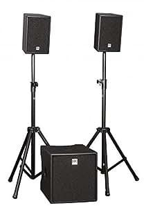 HK Audio LUCAS Performer - Set de altavoces (2.1, 900W, Cine en casa, D, 200W, 130 - 19000 Hz) Negro
