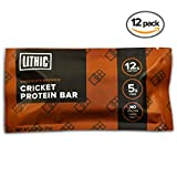 Cheap Lithic Cricket Protein Bar :: Chocolate Brownie :: Made with 100% Pure Cricket Flour :: Paleo Friendly, Sustainable Food, Dairy Free, Gluten Free Protein Bar