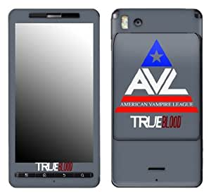 MusicSkins, MS-TRUB10151, True Blood - American Vampire League, Motorola Droid X/X2, Skin
