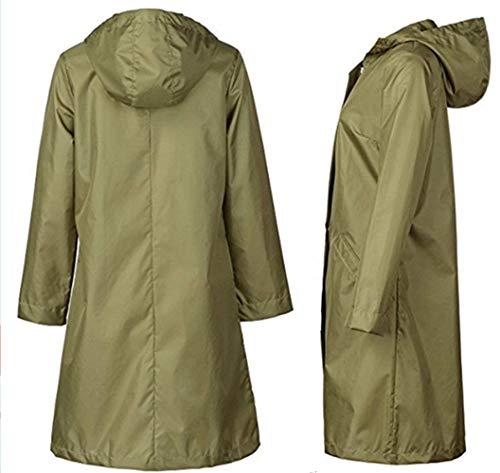 Vestes En Armeegrün À Dame Poncho Air Voyage Plein Randonnée vent Femmes Imperméable Équitation De Coupe Capuche Vêtements Pluie Casual 7qxUrp7