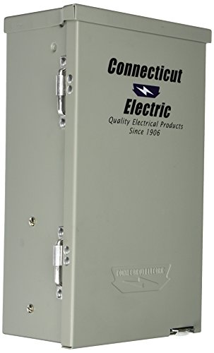 Connecticut Electric CESMPSC41GRHR 30-Amps/120240-Volt Circuit Protected RV Power Outlet by Connecticut Electric