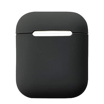 Funda de silicona para auriculares Damonlight Airpods Funda de silicona para auriculares inalámbricos Apple(Negro