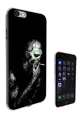 003402 - Smoke tattoo skull Design iphone 6 Plus / 6S plus 5.5'' Fashion Trend Silikon Hülle Schutzhülle Schutzcase Gel Rubber Silicone Hülle