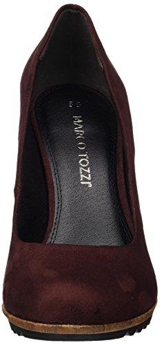 Tozzi con Tacco Marco Comb 22412 Rosso Scarpe Donna Merlot BOwqxqvU