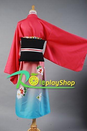 Azul exorcista Ao No exorcista Shiemi Moriyama Kimono traje de ...