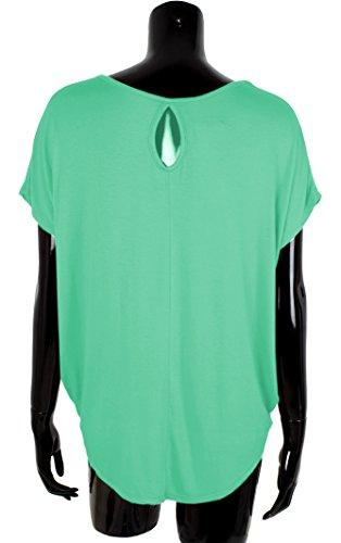 Vert Giovanni Dos Emma Ouvert Shirt amp; Femme H7w1qYO1