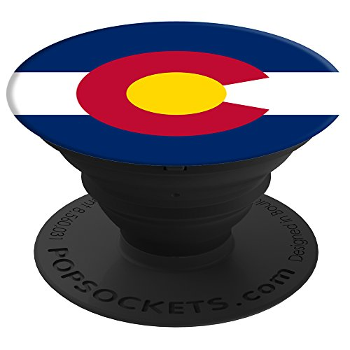PopSockets: Collapsible Grip & Stand for Phones and Tablets - Colorado Flag