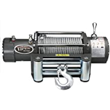 VIPER Winch 13000lb, Steel cable, handheld and wireless remote