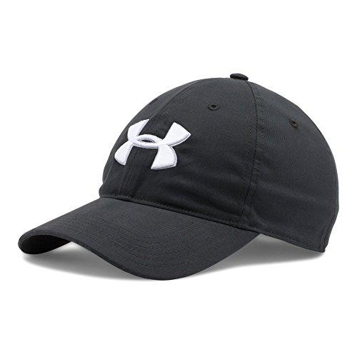 Chino Golf - Under Armour Men's Chino Cap, Black (001)/White, One Size