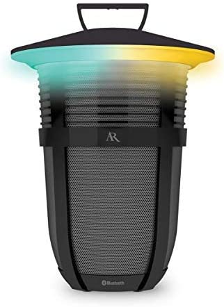 Acoustic Research Santa Clara 20 Watt Rechargeable Indoor Outdoor Wireless Light Up Bluetooth Speaker