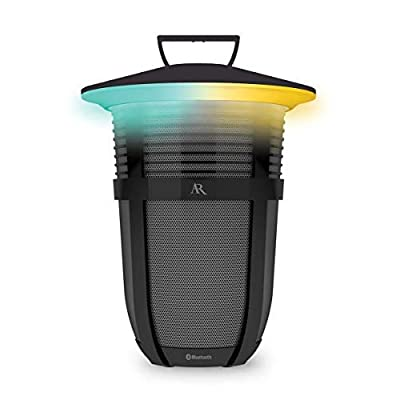Image of Portable Bluetooth Speakers Acoustic Research Santa Clara 20 Watt Rechargeable Indoor Outdoor Wireless Light Up Bluetooth Speaker