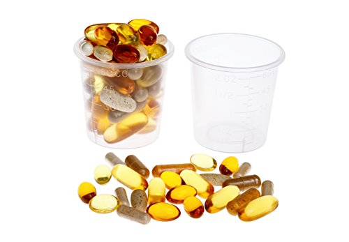 Oakridge Products 2 ounce Medicine Cup (50 Pack) | Great for mixing small batches